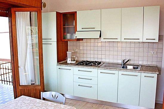 Apartment Gardasee für 4 Personen mit Küche in residence Gardasee Casa Maria